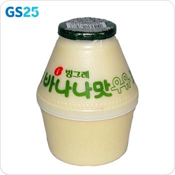 [GS25]빙그레)바나나우유240ML